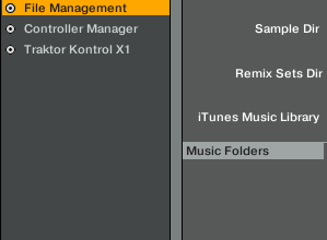 Music Folder location