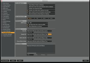 expanded File management window Traktor