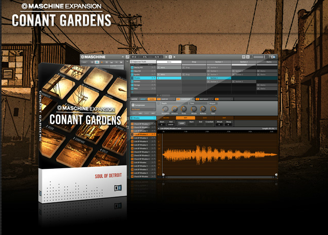 Conant Gardens Maschine expansion pack
