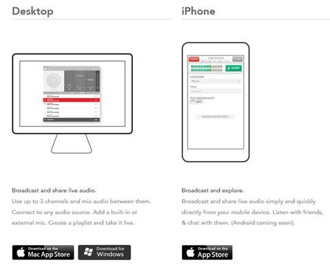 mixlr-app