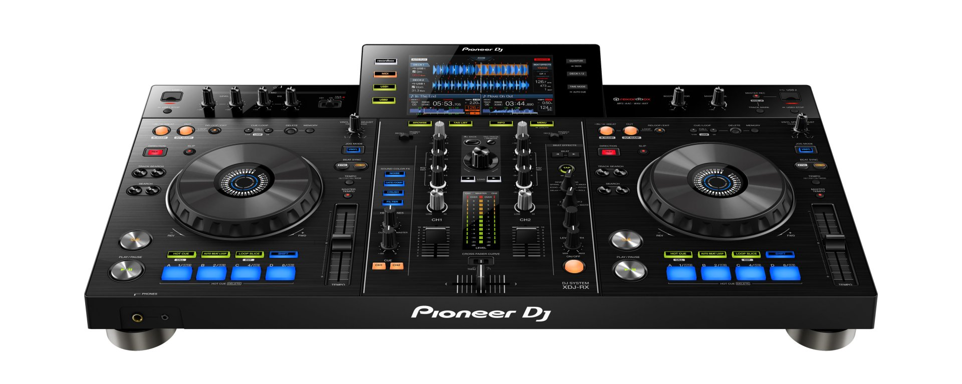 pioneer xdj rx is exciting no laptop required traktor tips. Black Bedroom Furniture Sets. Home Design Ideas